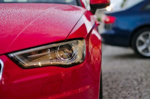 Scheinwerfer polieren Audi
