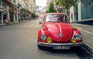 VW Käfer mit Tageszulassung