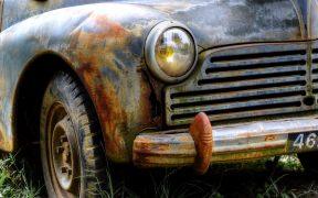Rostiges Auto